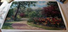"""Summer Enchantment"" by Wendy & Kevin Schaefer-Miles Signed Serigraph Print"