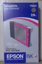 Original Epson T5633 Tinte  magenta   für Stylus Pro  7800  9800 OVP