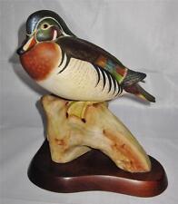 Cybis Porcelain Figurine WOOD DUCK #341 Bird