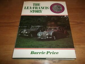 Book. The Lea-Francis Story. Coventry Barrie Price Motor Cars Signed 1st 1978 HB