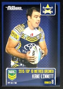 2016 NRL TRADERS KANE LINNETT COWBOYS PIECES OF THE PUZZLE PP43/90