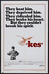 Kes 1969 Retro Vintage Movie Poster A0-A1-A2-A3-A4-A5-A6-MAXI 225