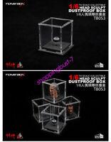 """TOYS-BOX 1/6 Scale Transparent Dustproof box Fit 12"""" Action Figure Head Sculpt"""