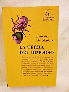 LA TERRA DEL RIMORSO di Ernesto De Martino 1994 il Saggiatore libro antropologia