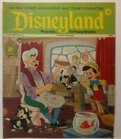 Vintage Disney Disneyland Magazine Back Issue No 43 December 5, 1972 Pinocchio