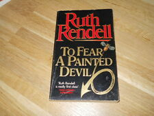 TO FEAR A PAINTED DEVIL - RUTH RENDELL - TIMES LITERARY SUPPLEMENT 1965 - (61)