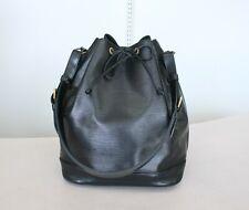 AUTHENTIC LOUIS VUITTON NOE EPI Black Noir Shoulder Bag No.1211