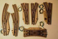 Märklin HO  Metallgleise, verschiedene Weichen, funktionsgeprüft