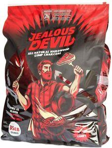 NEW - Jealous Devil All Natural Hardwood Lump Charcoal - 35LB
