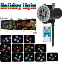 LED Lanscape Light Projector Outdoor Spotlight IP67 Party Xmas Halloween Holiday