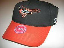 Baltimore Orioles Hat MLB Replica Adjustable Pre Curved Baseball Cap Youth