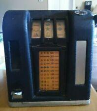 1930's 5 Cent Trade Stimulator Zephyr Groetchen Gumball Machine nickel