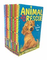 Animal Rescue 10 Books Set Collection by Tina Nolan inc The Unwanted Puppy, The