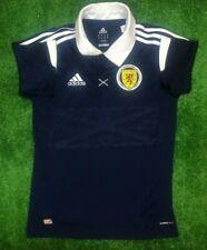 SCOTLAND 2012/2014 HOME FOOTBALL SOCCER JERSEY SHIRT ADIDAS BOYS SIZE L