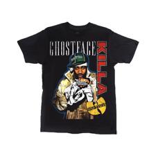GHOSTFACE KILLAH Ghost Black Shirt Small NWT