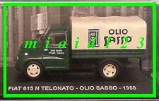1/43 - Fiat 615 N Telonato : OLIO SASSO - 1958 - Die-cast