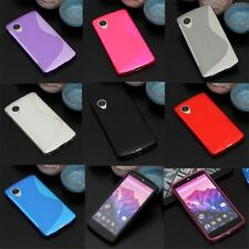 For LG Nexus 5 D820 D821 S Shape Skidproof Gel skin case cover