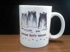 11 oz Ceramic Mug - Nothin' Butt Yorkies
