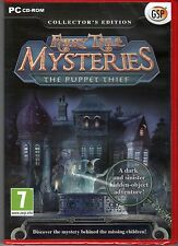 FAIRY TALE MYSTERIES The PUPPET THIEF Hidden Object PC Game CD-ROM NEW