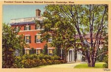 HARVARD UNIVERSITY PRESIDENT CONANT RESIDENCE CAMBRIDGE