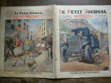 PETIT JOURNAL ILLUSTRE 1928 N 1966 ACCIDENT DE CAMION