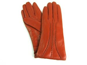 Ladies Womens Premium Quality Real Super Soft Leather Gloves Lined Winter Warm