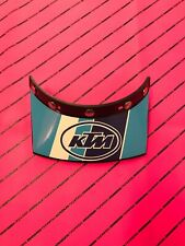 Cp France Peak Visor 5-snap Vintage Kx Cr Yz Rm  Evo Ktm Motocross Nos