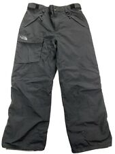 The North Face HyVent Mens Large Cargo Black Ski Snowboard Pants Fleece Lined