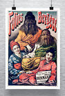 Folies Bergere Vintage French Sideshow Poster Giclee Print on Canvas or Paper