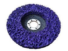 Rostio CSD Scheibe 125 mm Winkelschleifer Flex Lila Purple Reinigungsscheibe