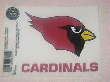 Arizona Cardinals NFL Football Reusable Static Cling Window Decal Sticker