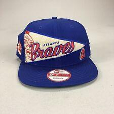 New Era 9 fifty 9/50 fitted Atlanta Braves Brand New Baseball Snapback Cap