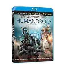 Blu Ray HUMANDROID CHAPPIE - (2015) (Master 4K) ***Contenuti Speciali*** ..NUOVO