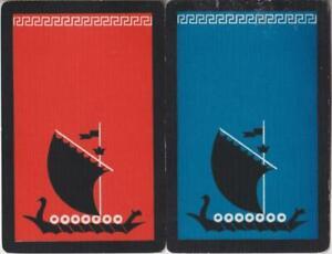 BOATS #Q3b    2 Single ID Swap Playing Cards