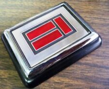 OEM GM Oldsmobile Olds Toronado Chrome & Red Trunk Lock Cover