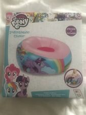 My Little Pony Junior Toddler Comfortable Inflatable Chair Flocked Seat