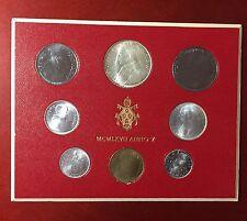 Vatican officiel KMS 1967 en orig. BLISTER, incl. 500 lires Argent pièce de monnaie