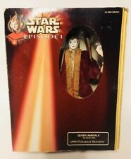 Star Wars Episode 1 PORTRAIT EDITION QUEEN AMIDALA Barbie Doll RED SENATE Toy