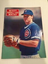 Beckett Baseball Card Monthly Magazine Ryne Sandberg Chicago Cubs - August 1990