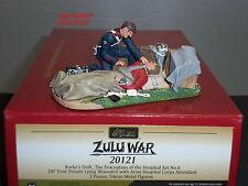 BRITAINS 20121 ZULU WAR RORKES DRIFT EVACUATION OF THE HOSPITAL TOY SOLDIER SET