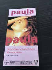 """Paula Abdul Blowing Kisses In The Wind Japan 3"""" CD Single Unsnapped"""