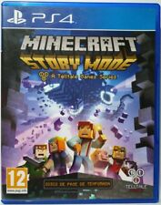 Minecraft Story Mode. A Telltale Games Series. Ps4. Fisico. Pal Es