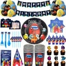 All AMONG US Party Supplies Birthday Party Supplies cups plates napkins banner