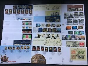 2010 FDC - SMALL COLLECTION OF 25 FIRST DAY COVERS, PANES & MINISHEET COVERS