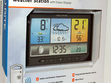 AcuRite Weather Station Colour LCD Display and Wireless Outdoor Sensor New