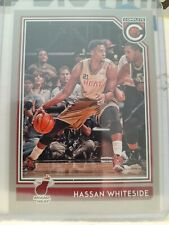 Hassan Whiteside 2016-17 Panini Complete Silver Parallel.