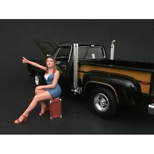 70's STYLE FIGURE VI FOR 1:18 SCALE BY AMERICAN DIORAMA 77456