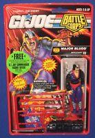 """GI Joe Cobra Major Blood 3.75"""" Action Figure 1993 MOC Hasbro Battle Corps Carded"""