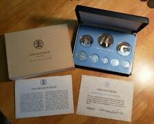 New listing 1979 Coinage Of Belize Franklin Mint Bird 8 Coin Proof Set In Ogp With Coa