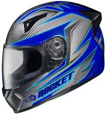 Joe Rocket Helmets UNI Full-Face Street Helmet R1000x MC2  LITHIUM LARGE